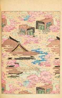 Japanese Textiles, Japanese Prints, Japanese Design, Japanese Art, Decoration Design, Art Design, Graphic Design, Textile Design, Magazine Japan