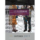 mladi umetnik Leon Vidmar, razstava »FRAGMENTI«, oktober 2011