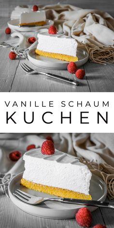 Vanille Schaum Kuchen (Sampita) Ahalni Sweet Home - Pizza rezepte Raspberry Desserts, Oreo Desserts, Pudding Desserts, Chocolate Desserts, No Bake Desserts, Easy Desserts, Delicious Desserts, Dessert Recipes, Fun Baking Recipes