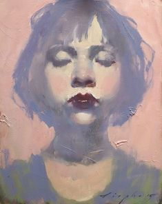 "MALCOLM LIEPKE- ""LITTLE PINK GIRL""."