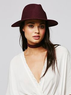 Clean Slate Felt Hat at Free People Clothing Boutique