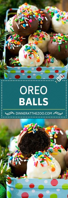 Oreo Balls Recipe & Oreo Truffles & Homemade Candy Source by ashleyfehr Dessert Oreo, Oreo Desserts, Pudding Desserts, Party Desserts, Oreo Treats, Fudge Recipes, Best Dessert Recipes, Baking Recipes, Delicious Desserts