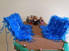 Escolinha Bíblica da Garotada: Maternal 2015: Lição 02- A história do mar que se ...