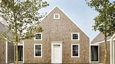 At a dazzling harborside site, Jacobsen Architecture reimagines the island's residential vernacular in an extraordinary compound of modest, cleverly planned cottages Gros Morne, Nantucket Massachusetts, Shingle Style Homes, New England, Floor Plans, Island, Vacation, Architecture, House Styles