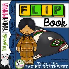 Your students will love to make this US Native American Indian Pacific Northwest Tribes FLIP Book! This book covers homes, clothing, food, tools, daily life, history and geography of the tribe. This flip book is simple to color, cut and paste together.