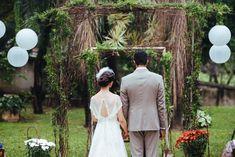 Vestido de noiva exclusivo Iáskara Isadora Casamento Fabíola & Gabriel