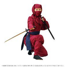 ホーム :: オンラインショッピング :: 忍者衣装/Ninja costume :: おこそ頭巾忍者衣装 Ninja costume :: おこそ頭巾忍者衣装9点セット(Sサイズ)Ninja costume
