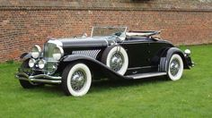 The Duesenberg name was revived for the 1928 New York Auto Show and the first car to be shown was th... - H&H Classics