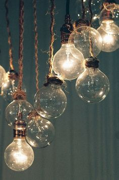 Rustic bulbs
