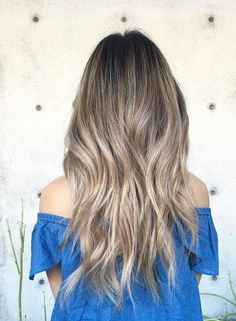 Loving Bright Soft Brown Blonde Waves Hairstyles 2017