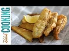Try this super crisp fried fish and chips recipe and then be ruined forever on all over fish and chips recipes. Fish Recipes, Seafood Recipes, Cooking Recipes, Cooking Chips, Cooking Fish, Cooking Videos, How To Make Fish, Food To Make, Best Fish And Chips