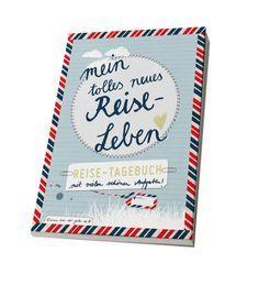 Reisetagebuch für Abenteuerlustige, mit interaktiven Aufgaben / travel journey, diary, paper gifts made by Eine der Guten via DaWanda.com