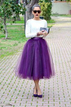 юбка-пачка офигенного цвета