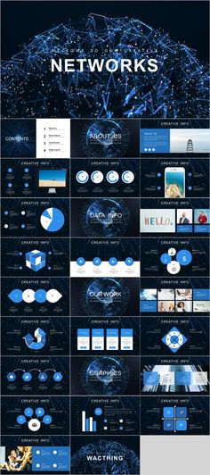 58 Best Technology Powerpoint Templates Images On Pinterest In 2018