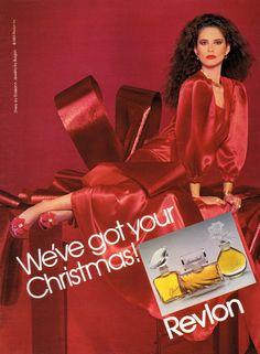 ELISABETTA RAMELLA  Revlon Ad  1983  VogueSpirit scan