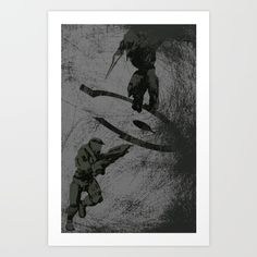 Running+Riot+-+Halo+Art+Print+by+Canis+Picta+-+$25.00
