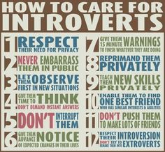 how to care for introverts and extroverts - Google Search