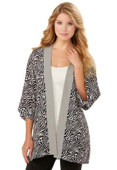 Cato Fashions Plus Size Angel Sleeve Lace Top Cato Fashions Zebra Print