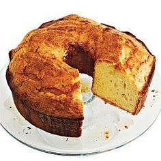 Heart-healthy canola oil helps lighten this classic dessert. And an ingenious technique of soaking a vanilla bean in the oil adds deep, rich flavor to Canola Oil Pound Cake with Browned Butter Glaze.