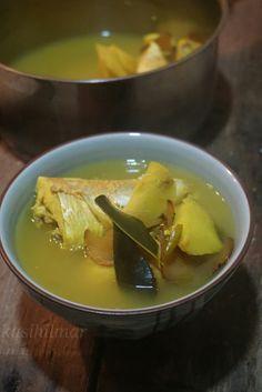 Asam Rebus Ikan Kerisi Malaysian Cuisine, Pudding, Ethnic Recipes, Soups, Desserts, Food, Tailgate Desserts, Deserts, Puddings