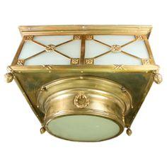 1stdibs.com | Oversized Antique Ceiling Light