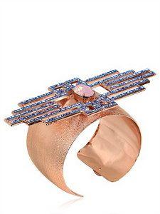Halaby - Blue Piaf Bracelet   FashionJug.com