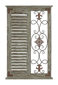 Deco 79 Wood Metal Wall Panel, 26 by 40-Inch -- Want to know more, click on the image. (This is an affiliate link) #DecorativeAccessories