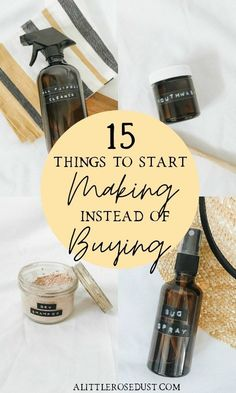 15 things to start making instead of buying - A little Rose Dust - - 15 things to start making instead of buying – A little Rose Dust Zero Waste Living 15 things to start making instead of buying Limpieza Natural, Little Rose, Diy Cleaners, Household Cleaners, Clean Living, Natural Cleaning Products, Natural Cleaning Recipes, Natural Products, Sustainable Living