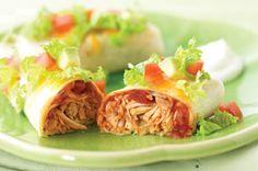 Cheesy Chicken Roll-ups recipe