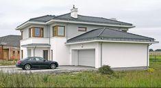 Z klasą 1 - realizacja 2 - DOMY Z WIZJĄ Duplex Design, Home Fashion, Mansions, House Styles, Home Decor, Mansion Houses, Decoration Home, Manor Houses, Villas