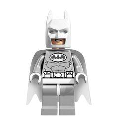 LEGO 1175 DC Comics Super Heroes Minifigure - Batman White Arctic Version for sale online Batman Party, Lego Batman, Lego Marvel, Marvel Dc, Superhero, Batman 2017, Batman Suit, Batman Arkham, Batman Vs