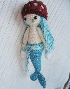 Mici die Piraten-Meerjungfrau / Schlüsselanhänger von Gebastelt auf DaWanda.com