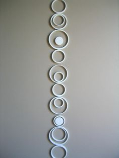 Wallter - Circles Wall Application at 2Modern  Have always wanted these. For chalk border?