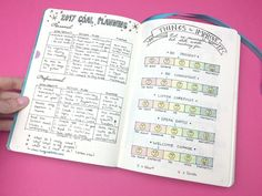 The life-changing bullet journal pages that help me start the New Year the right way! Love her pages!
