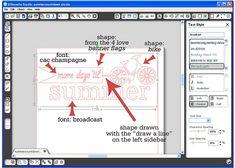 tutorial on making up an svg cut - Crafts Diy Ideas Silhouette Cameo 2, Silhouette Cameo Tutorials, Silhouette Cutter, Silhouette America, Silhouette Machine, Silhouette Projects, Silhouette Design, Inkscape Tutorials, Cricut Tutorials