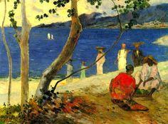 Paul Gauguin - Seaside II, 1887