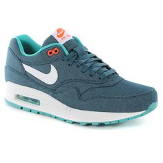 separation shoes 89282 93e51 Nike Air Max 1 Prm Shoes - Midnight Turquoise Nike Free Shoes, Nike Shoes  Cheap