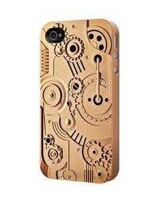 Clockwork iPhone 4 case in bronze $34.99