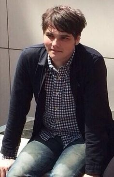 """Gerard be 40, looking 20.<<<ok, story time tho. I showed my dad a really recent picture of Gerard, and asked how old he thought he was. He looked at the pic for a few seconds and said """"idk, 17, 18?"""" I couldn't stop laughing! I told him that he was actually 39, and he was like """"no he's not!"""" It was the best thing!"""