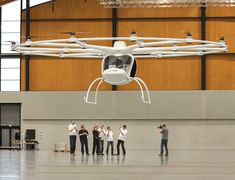 Volocopter : Personal helicopter will be as easy to drive as a car