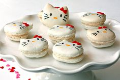 Hello Kitty French Macarons!