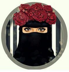 #rose #tesettür #hijab #girl #beautiful #black