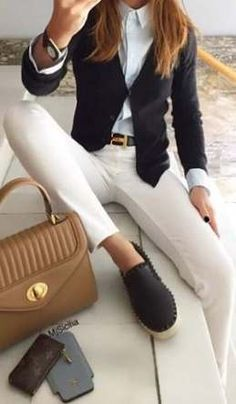 40 Great Casual Outfits For Women's Try - Outfits, # Casual Outfits office dress codes 40 Great Casual Outfits For Women's Try - Outfits, . Fashion Mode, Office Fashion, Work Fashion, Fashion Styles, Paris Fashion, Fashion Fashion, Runway Fashion, Fashion Design, Fashion Trends