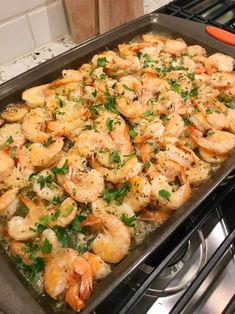 Garlic Parmesan Roasted Shrimp is part of Shrimp recipes - Rule 52 Give the people what they want Shrimp is a major food group in our house Both Jon Boy and Corey would eat it daily if they could For two weeks now, no kidding… Fish Recipes, Gourmet Recipes, Chicken Recipes, Cooking Recipes, Healthy Recipes, Recipes Dinner, Cooked Shrimp Recipes, Quick Recipes, Meals With Shrimp