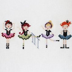 ✔ Handmade Bags For Girls For Kids Cross Stitch For Kids, Mini Cross Stitch, Cross Stitch Borders, Cross Stitching, Cross Stitch Embroidery, Hand Embroidery, Cross Stitch Patterns, Knitting Patterns, Beginning Embroidery