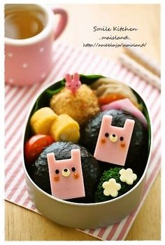 square rabbit onigiri