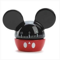 mickey mouse home decor - kitchen timer