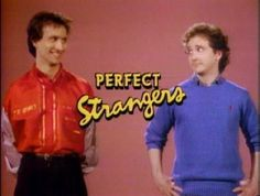 Perfect Strangers.  Gahh!!  I still know the whole theme song!
