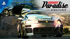Toss out that driver's handbook and set speed and destruction records all over town in Burnout Paradise Remastered! Relive the high-octane stunts and wanton . Burnout Paradise, Stunts, Gta, Videogames, Gaming, Cheer Stunts, Video Games, Game, Toys