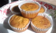 {New and Improved} Lemon Poppy Seed Cupcakes - Grain free, Gluten-free